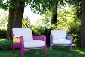 The Cocca Colorful Chair Collection is Comfortable and Durable