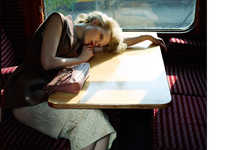 Contemplative Train Ride Shoots