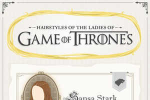 This Graphic Teaches How to Do Game of Thrones Hairstyles