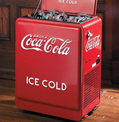Retro Cola Coolers - This Vintage Coke Cooler is Perfect for Nostalgic Soda Lovers