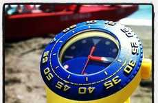 Yellow Submarine Watches - The Scuba Watch from Swatch is Ideal for Beach Life