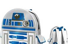 Robotic Rucksacks - This Star Wars R2D2 Backpack is the Perfect Back-to-School Sidekick