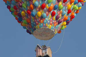 The Bristol Balloon Fiesta Saw 150 Hot Air Balloons Hit the Sky