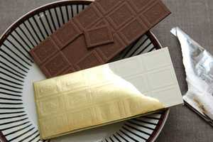 Chocolate Bars Wrapped in Foil Make for Sweet Greeting Cards