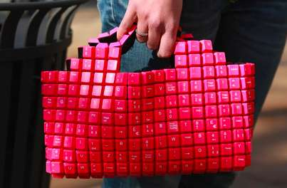 Illusive Keyboard Purses - Unleash Your Inner Computer Geek with the Keyboard Bag