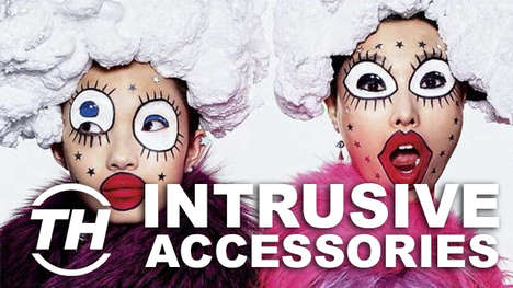 Intrusive Accessories - Inject Your Outfits with Artistic Flair by Adding Some Haute Couture Jewelry