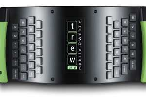 The TrewGrip Mobile Keyboard Connects with on-the-go Technology