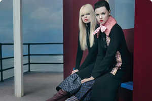 The Miu Miu Fall 2013 Campaign is Dark and on the Water