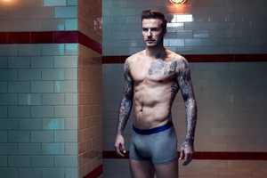 The David Beckham H&M Bodywear Fall/Winter 2013 Line is Sporty