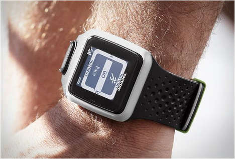 Sporty Navigational Timepieces - The TomTom Multi-Sport GPS Watch Tracks, Times and Directs Athletes