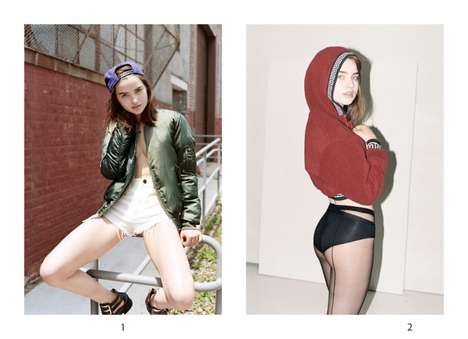 Casually Flirtatious Lookbooks - The Urban Outfitters Fall 2013 Style Book Stars Ali Michael