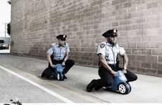 Comedic Cop Print Ads