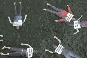 Frankfurt 'Tag des Fluechtlings' Campaign