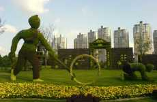 Olympic Topiaries