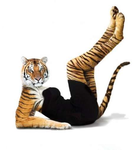 Sensual Photoshopped Animals