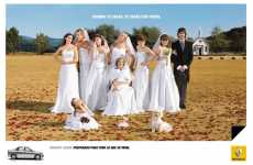 All Your In-laws in Wedding Dresses - Funny Renault Logan Ads