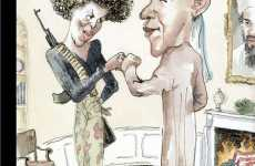 Offensive New Yorker Covers - Obama Loves Osama
