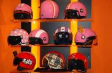 Fashion Helmets for Runways