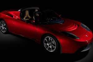 The Tesla Roadster & Stars Who Love It