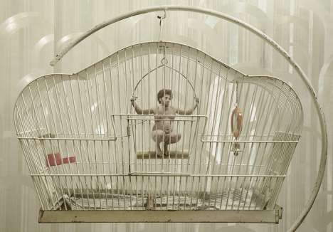 Little Humans as Caged Pets