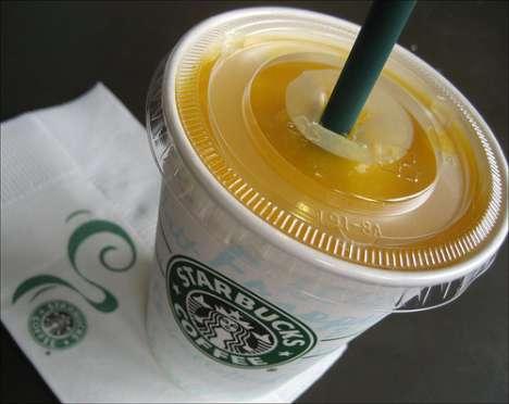 Starbucks Tries Protein Drinks - New Vivanno Smoothies
