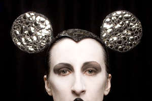 Mickey Mouse Headdresses by Piers Atkinson