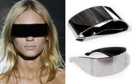 Enormous Futuristic Sunglasses - Maison Martin Margiela Incognito Eyewear