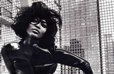 Naomi Strikes Back in V Magazine
