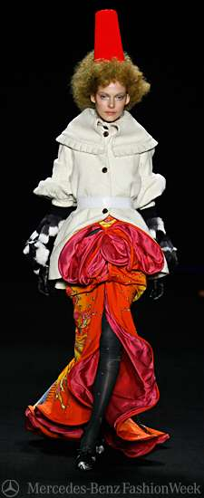 Eccentric Clown Gowns
