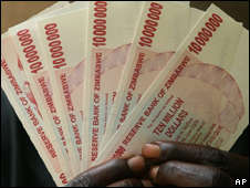 Z$100 Billion Bank Notes
