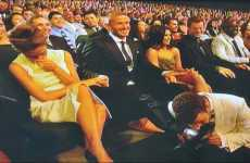 ESPY Awards Skits - Justin Timberlake Smells David Beckham's Foot