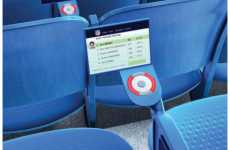 Ballparks with Touch Screen Seats