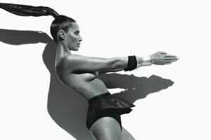 Christy Turlington for W Magazine