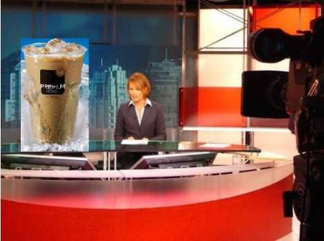 Product Placement in News Casts