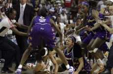 Pro Sports Catfights - WNBA Brawls