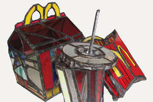 McDonald's Stained Glass & More