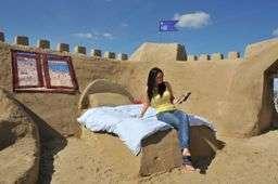 Actual Sandcastle Hotel, Also a PR Stunt