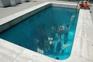 Leandro Erlich's Underwater Photography