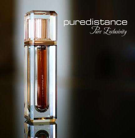 Luxury Perfume Inside Crystals - Pure Distance