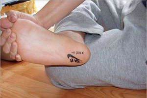 Fake Nikes Tattoo Your Feet