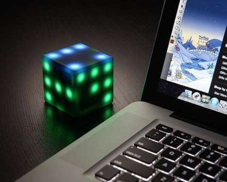 Interactive Gaming Cube Toys - This Gaming Toy Reacts to Your Skills