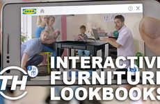 Interactive Furniture Lookbooks