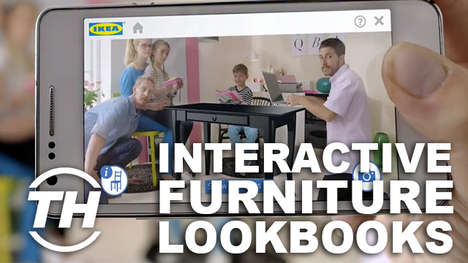 Interactive Furniture Lookbooks - The Ikea 2014 Catalogue Lets You Digitally Interact With Furniture