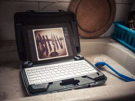 Shockproof Gadget Accessories - This Protective iPad Case is Shockproof and Durable