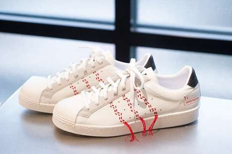 Flowing Remixed Sneakers - The Adidas