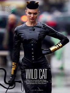 16 Fierce Feline-Themed Spreads - From Fierce Feline Editorials to Glamorous Feline Fashion