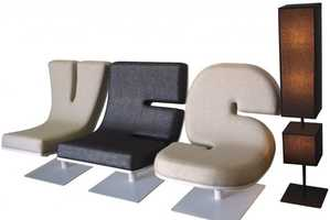 The Modern Furniture Typographia Collection by Tabisso Spells Words
