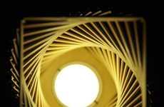 DIY Cruller Lamps