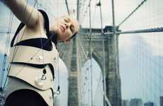 Suspension Bridge Musical Instruments - The Human Harp by Di Mainstone Merges Art and Architecture