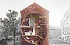 Gap-Filling Urban Abodes - 'Live Between Buildings' Puts Lofts in Small Spaces